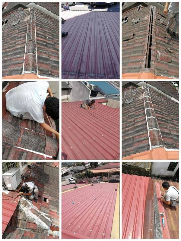 Roof Leaking Repair Specialist Roofing Contractor Malaysia Kl1
